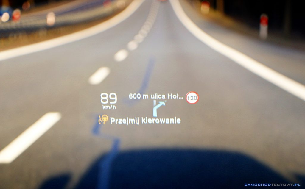 Head-up display Volvo S90